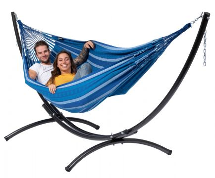 Arc & Chill Calm Double Hammock with Stand