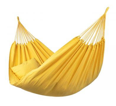 Organic Yellow Double Hammock