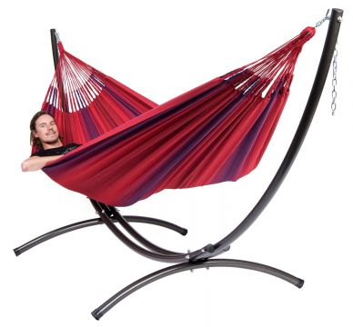 Arc & Refresh Bordeaux XXL Hammock with Stand