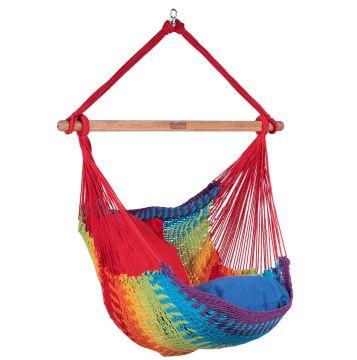 Mexico Rainbow Single Hanging Chair