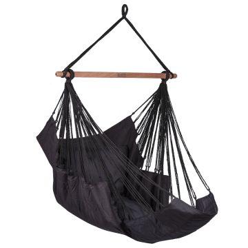 Sereno Black Single Hanging Chair