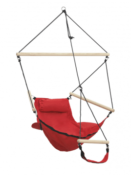 Swinger Red Single Hanging Chair