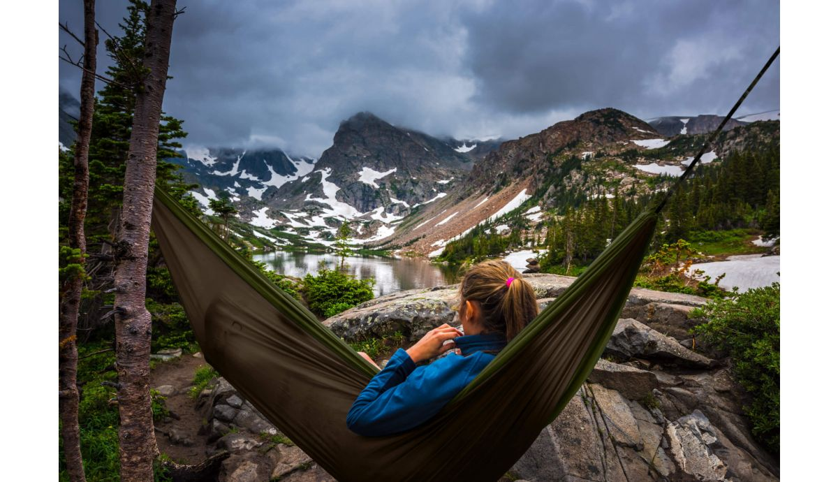 'Travel' Army Double Camping Hammock