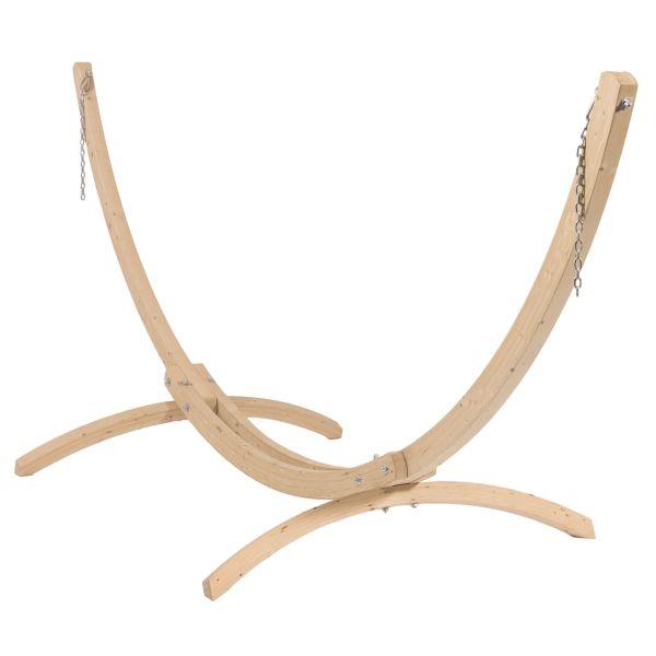 'Wood'  Single Hammock Stand